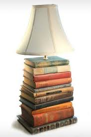 small book lamp