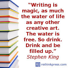 Writing is magic stephen king