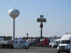 North Carolina. OTR. Truck Stop. Trucking.