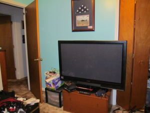 My son's FS TV that he'll be getting once he's out of bootcamp and training/school.