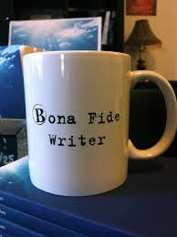 bonafide writer mug