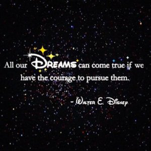 disney dream quote