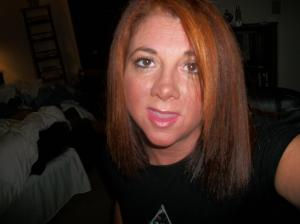 me with short red hair