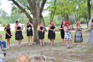 Rehearsal dinner and wedding 146
