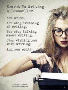 Secret to writing
