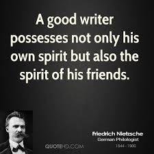 writers friends